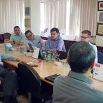The visit of the CEO and Vice President of DRIVELOCK to the ACS Group