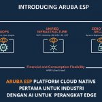 Aruba ESP Industry First Native Cloud Platform with AI for edge devices.